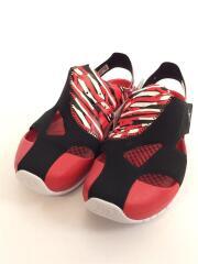 JORDAN FLARE PS/箱付/キッズ靴/21cm/サンダル/RED/CI7849-016