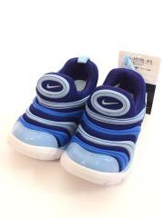DYNAMO FREE (TD)/タグ付/箱付/キッズ靴/14cm/スニーカー/BLU/343938-415