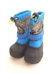 CHILDRENS POWDERBUG/スノーブーツ/箱付/キッズ靴/13cm/ブーツ/BLU/BC1327