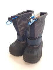 CHILDRENS POWDERBUG/スノーブーツ/箱付/キッズ靴/13cm/ブーツ/GRY