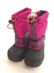 CHILDRENS POWDERBUG/スノーブーツ/箱付/キッズ靴/13cm/ブーツ/PNK/BC1324