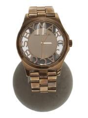 クォーツ腕時計/アナログ/--/GLD/GLD/スケルトン/箱付/MBM3207