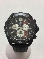 TAGHeuer/インディ500/LIMITED EDITION/クォーツ腕時計/アナログ/ラバー/BLK
