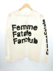 TSI FFF/タグ付/未使用品/長袖Tシャツ/46/コットン/WHT/0055SS18