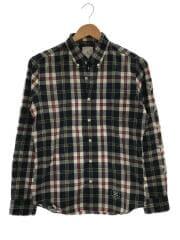uniform experiment/長袖シャツ/1/コットン/NVY/チェック/UE-130067