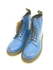 1460 BLUE SMOOTH/箱付/未使用品/ブーツ/UK7/BLU/レザー/24614400
