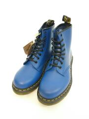 1460 BLUE SMOOTH/箱付/未使用品/ブーツ/UK6/BLU/レザー/24614400