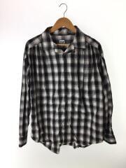 19AW/Painter Shirt/長袖シャツ/M/コットン/BLK/チェック