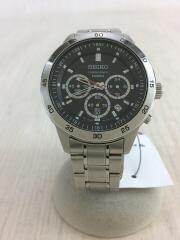 クォーツ腕時計/アナログ/ステンレス/BLK/4T53-00A0