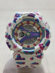クォーツ腕時計・Baby-G/デジアナ/マルチカラー