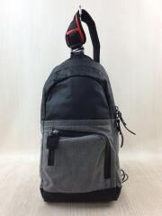 ショルダーバッグ/PVC/GRY/X05484