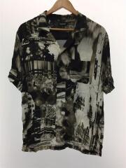 タグ付き/Graphic Print Open-collar Shirt/48/レーヨン/CDM-19W-0209
