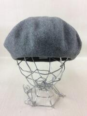 ベレー帽/ウール/GRY/4LB37129