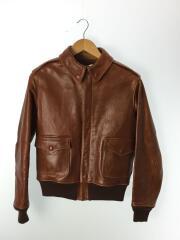 A-2/ROUGH WEAR CLOTHING/レザージャケット・ブルゾン/36/馬革/CML