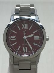 XC/クロスシー/クォーツ腕時計/9613-T002391TA/BRD/SLV