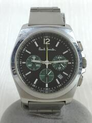 中古/0520-T002161 TA/FINAL EYES CHRONOGRAPH/クォーツ腕時計/アナログ