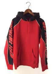 中古/17AW/GT Hooded Sweatshirt/プルオーバーパーカー/S/スリーブプリント