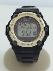 中古/BGR-3003-1JF/ソーラー腕時計・Baby-G/デジタル/ベビージー/ブラック