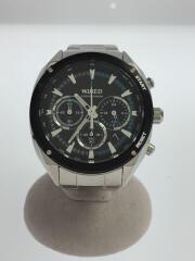 中古/VK63-KJB0/クロノグラフ/クォーツ腕時計/アナログ/ステンレス/BLK