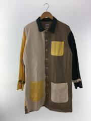 中古/18SS/KRAZY/Strap Long Shirt/ストラップロングシャツ/カバーオール/コート/M
