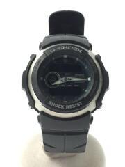 中古/G-300-3AJF/クォーツ腕時計・G-SHOCK/ジーショック/デジアナ/ブラック