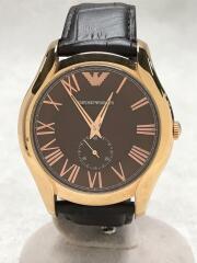 クォーツ腕時計/AR-1705/スモールセコンド/アナログ/--/BRW