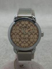 クォーツ腕時計/バングルセット/アナログ/ステンレス/GRN/W1608SS