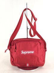 19SS/Shoulder Bag/ショルダーバッグ/RED/無地/汚れ有
