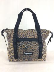 SUPREME/20AW/Zip Tote/Leopard/トートバッグ/ナイロン/BRW/レオパード
