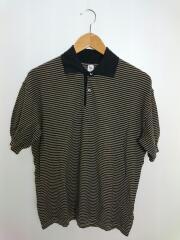 ポロシャツ/36/コットン/BLK