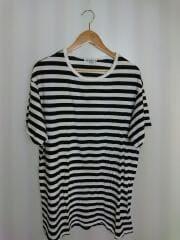 Tシャツ/3/コットン/BLK/ボーダー