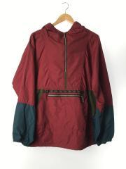 アノラックジャケット/L/ナイロン/RED