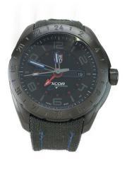 Orologio Uomo xcor Aerospace/クォーツ腕時計/アナログ/BLK