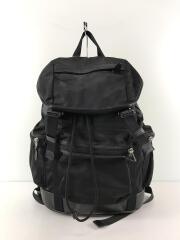 TREK PACK IN NYLON/トレックパック/リュック/F71884/ナイロン/ブラック/無地
