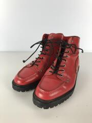 ブーツ/27cm/RED/レザー
