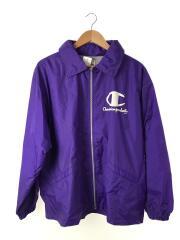 ロゴコーチジャケット/ナイロンジャケット/CJ-912/M/ナイロン/パープル