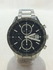 CARRERA/CALIBRE 16/CV201AJ-9/自動巻腕時計/カレラ/ベルト小傷/コマ/箱/クロノグラフ