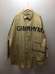 シャツ/L/コットン/GINRHYMES/ジンライムス