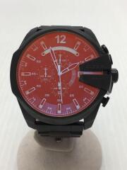 クォーツ腕時計/アナログ/ステンレス/BLK/DZ-4318/ディーゼル/ブラック/クロノグラフ