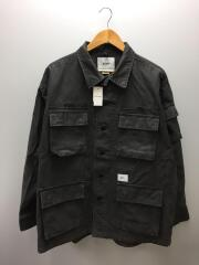 ミリタリージャケット/3/コットン/GRY/201WVDT-SHM02/JUNGLE LS 01
