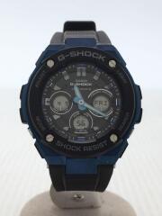 ソーラー腕時計・G-SHOCK/デジアナ/カシオ/GST-W300G/クロノグラフ