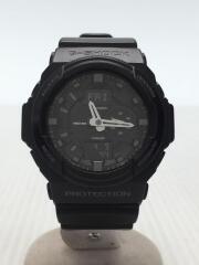 クォーツ腕時計・G-SHOCK/デジアナ/BLK/GA-150/カシオ/ジーショック