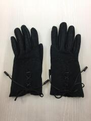 エルメス/手袋/羊革/BLK