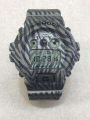 クォーツ腕時計・G-SHOCK/デジタル/ラバー/GRY/GRY