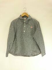 ダントン/長袖シャツ/JD-3564 TRD/36/コットン/チェック/丸襟プルオーバーシャツ