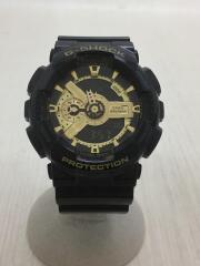G-SHOCK/GAW-100B/ソーラー腕時計/デジアナ/ラバー/BLK/BLK