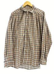 18AW/Painter Shirt/ペインターシャツ/ノヴァチェック/長袖シャツ/M/コットン/BEG