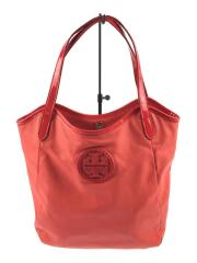 STACKED LOGO NS TOTE/POPPY RED/90009602/トートバッグ/キャンバス/レッド