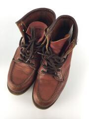 ブーツ/US8.5/BRW/モックトゥ/クラシックワーク
