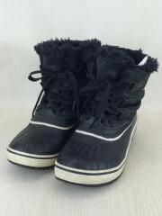 ブーツ/23cm/BLK/スノーブーツ/セカスト/中古